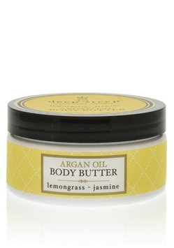 Deep Steep Argan Oil Body Butter Lemongrass - Jasmine 7 oz