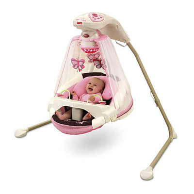 Fisher-Price - Papasan Cradle Swing