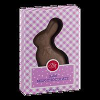 Fannie May Solid Milk Chocolate Bunny