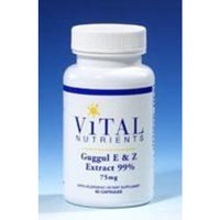 Vital Nutrients - Guggul E & Z Extract 99% 75 mg 60 caps