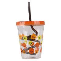 Tzeng Shyng 3.75 X 3.3 X 6.7 Inch Toddler Straw Cup Orange