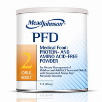 Mead Johnson PFD2: Protein & Amino Acid Free Diet Powder