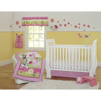 Garanimals Sunny Safari 3-Piece Crib Bedding Set