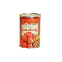 Polar   12 Pack Case of 15 oz. Cans of Whole Strawberries
