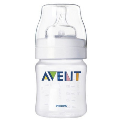 Philips Avent BPA Free Classic 4 Ounce Polypropylene Bottle, 1-Pack