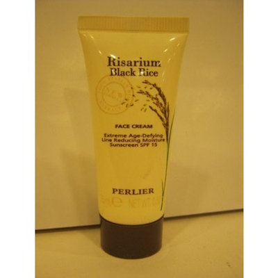 Perlier Risarium Black Rice Face Cream Extreme Age-defying Line-reducing Moisture Sunscreen SPF 15, .52 Oz. - Unboxed