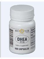 DHEA 50 mg 100 caps by Bio-Tech