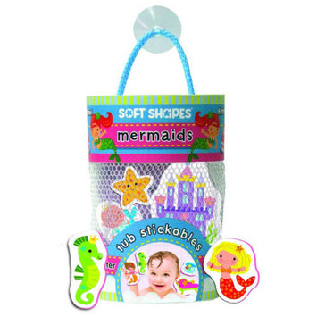 Innovative Kids Mermaid Soft Shape Stickables Tub