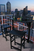 Miyu Furniture MiYu Furniture Balcony Bar 3-piece Set