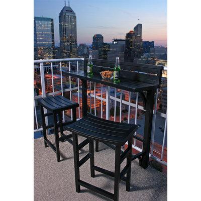 Miyu Furniture MiYu Furniture Balcony Bar 3-piece Set