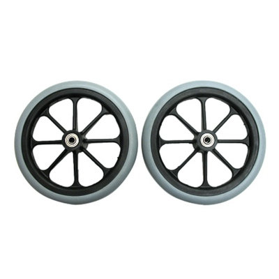 Karman 8x1in Front Caster with 5/16in Bearing