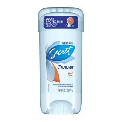Secret® Outlast Sport Fresh Clear Gel Deodorant