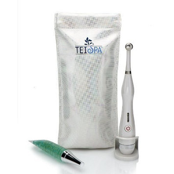 TEI Spa By Tip Essentials, Inc. Anti-Wrinkle Tool: The Point Kit with 24 Karat Gold Eye Firming and Wrinkle Prevention Serum 15ml