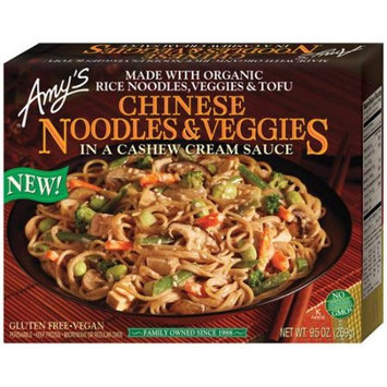 Amy's Kitchen Chinese Noodles & Veggies in a Cashew Sauce, 9.5 oz