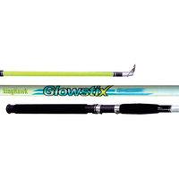 King Hawk GS Glowstix 2-Piece Spin Fishing Rod