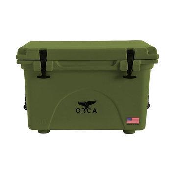 Entertainment Production House 40 Quart Capacity Green Cooler