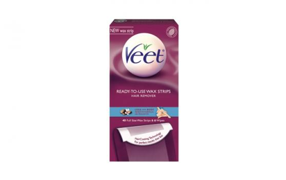 VEET® Ready-to-Use Wax Strips, Leg & Body