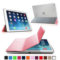 Fintie Semi Transparent Hard Shell Case Cover for iPad Mini 2 (2013 Edition) and Mini (2012 Edition), Pink/Frost