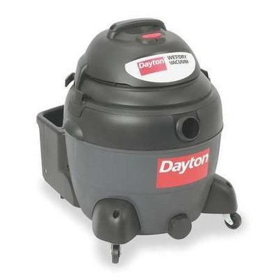 DAYTON 4TB82 Wet/Dry Vacuum, 2 HP, 16 gal, 120V