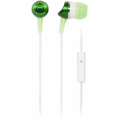 Wicked Audio Metallics Earbuds w/Mic Green