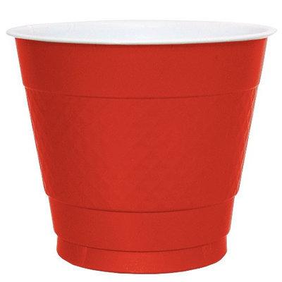 Hanna K Signature Hanna K. Signature 84080 9 Oz. Red Plastic Cup - 600 Per Case
