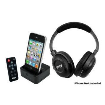 Pyle PIH30R Wireless Stereo Headphone W/iphone Doc