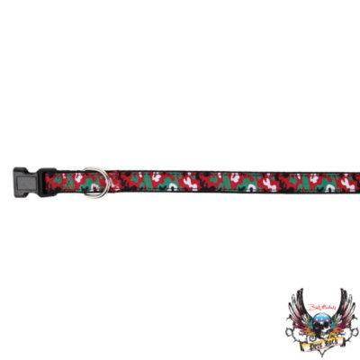 Bret Michaels Pets RockTM Camo Holiday Collar