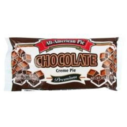 All-american Pie® Chocolate Creme Pie 4.25 Oz [6 Packs]