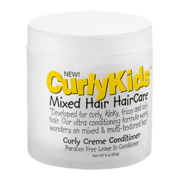 Curly Kids Mixed Hair Haircare Curly Creme Conditioner
