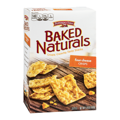 Pepperidge Farm Baked Naturals Four Cheese Crisps