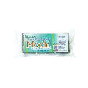 Eden Brown Rice & Mugwort Mochi, 10.5-Ounce Package