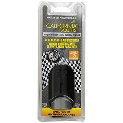 California Scents Vent Clip Palms, Newport New Car (Pack of 3)