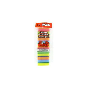 DDI 12 Pc Cleaning Set Sponges- Case of 96