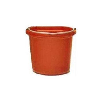 Fortex Industries Inc Flatback Bucket- Orange 20 Quart - FB-120 ORANGE