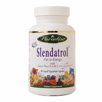 Paradise Herbs Slendatrol with Green Tea CLA & Chromemate