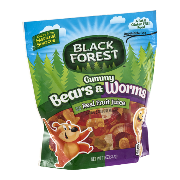 Black Forest Gummy Bears & Worms