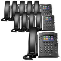 Polycom 2200-46157-001 (10-Pack) VVX 400 Business Media Phone