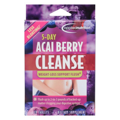APPLIED NUTRITION 5 Day Acai Berry Cleanse Dietary Supplement - 20 tablets