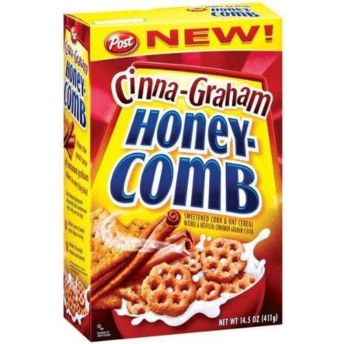 Post Cereal Post Cinna-Graham Honey-Comb Cereal