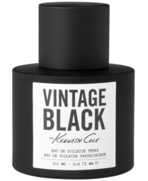 Kenneth Cole Vintage Black Eau de Toilette Spray, 3.4 fl oz