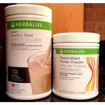 Herbalife Formula1 Nutritional Shake + Personalized Protein Powder (Cafe Latte)