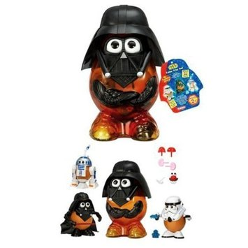 Star Wars Mr. Potato Head Trio: Darth Tater, Spud Trooper, and Artoo-Potatoo Combo Set
