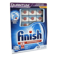 Finish Jet-Dry Finish Quantum with Baking Soda - 45ct