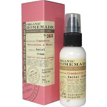 Greenscape Organic Homemade Cranberry, Watermelon & Wheat Facial Cream, 50 Ml / 1.7 Oz