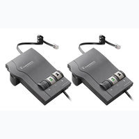 Plantronics Vista M22 (2-Pack) Phone Headset Amplifier w/ Clearline Audio Technology