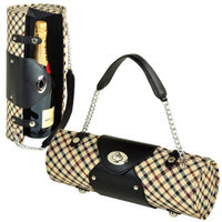 Picnic at Ascot Picnic At Ascot Patterned Wine Carrier and Purse