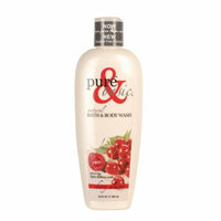 Pure and Basic Body Wash Cherry Almond 12 oz