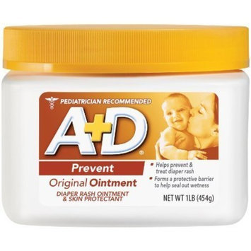 A+D Original Ointment, Diaper Rash and All-Purpose Skincare Formula 1 lb