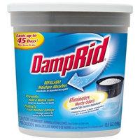 Damp Rid DampRid FG01K Refillable Moisture Absorber, Fragrance Free, 10.5-Ounce