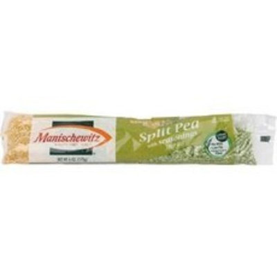 MANISCHEWITZ Split Pea with Seasonings Cello Soup Mix, 6-Ounce (Pack of 24)